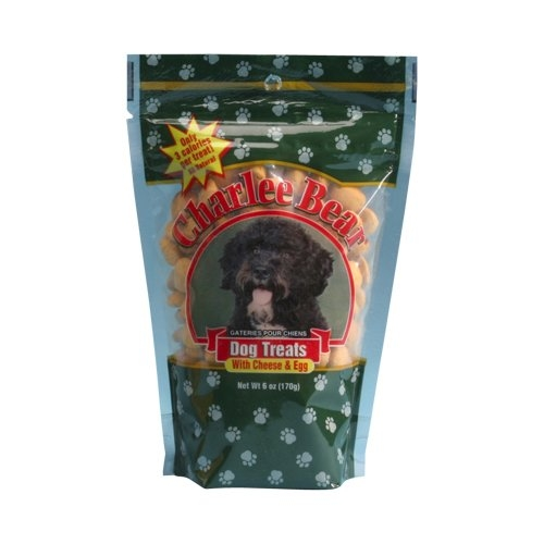 Charlee Bear Cheese/Egg Dog Treat 6Oz