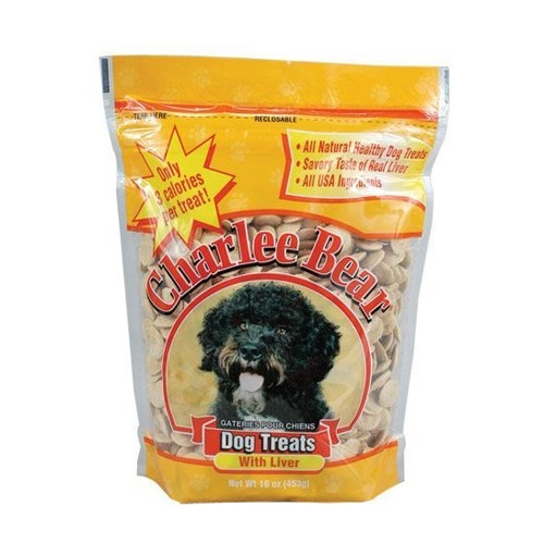 Charlee Bear Liver Dog Treats - 16 oz. Pouch *Each