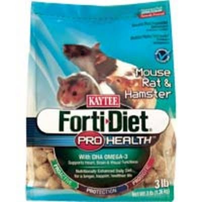 Kaytee Forti-Diet Pro Health Mouse/Rat 6/3 lbs