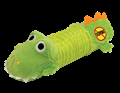Big Squeak Gator Stuffing Free Dog Toy