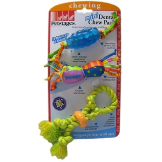 Mini Dental Chew Pack - Mini Orka Chew, Mini Dental Rope, Mini Barbell