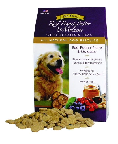 Gimborn Real Peanut Butter & Molasses Dog Biscuits