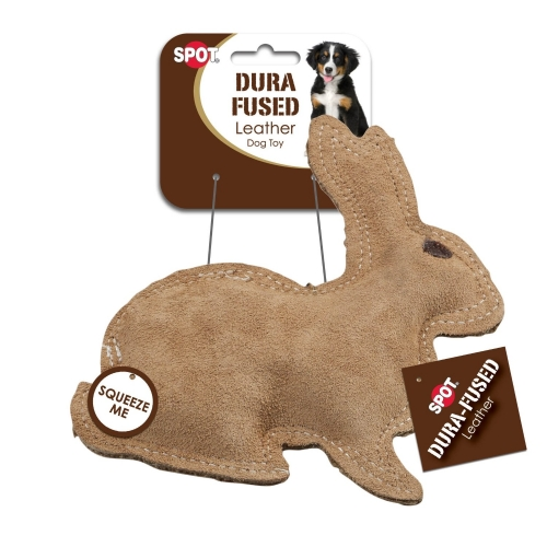 Ethical Durafuse Leather Jute Rabbit Small 10