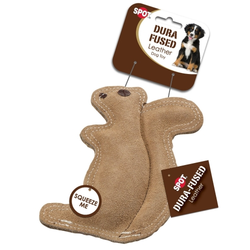 Ethical Durafused Leather Jute Squirrel Small 10