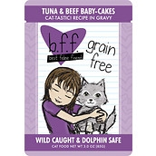 BFF Tuna & Beef Baby Cakes 3oz Pouch