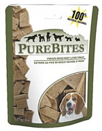 Pure Bite Beef/Liver Freeze Dried Entry Size Clipstrip 12/2.3 Oz Each