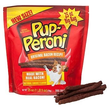 Delmonte Pupperoni Bacon 4/25 oz.