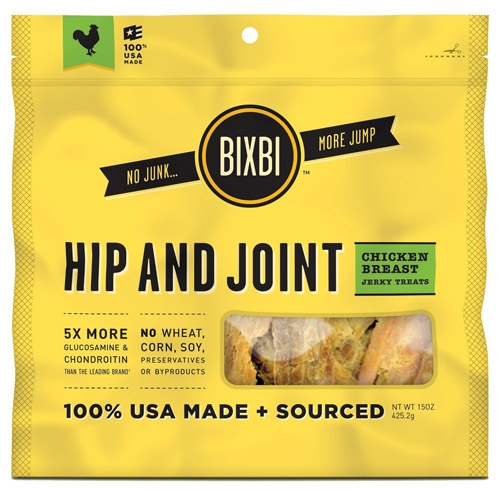 Bixbi Chicken Jerky Hip/Joint 15 oz.
