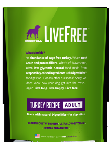 Livefree™ Adult Turkey Recipe 12#