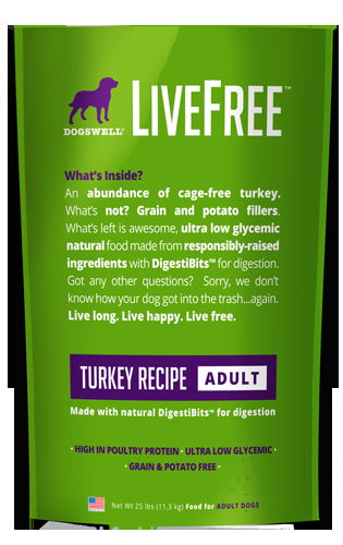 Livefree™ Adult Turkey Recipe 25#