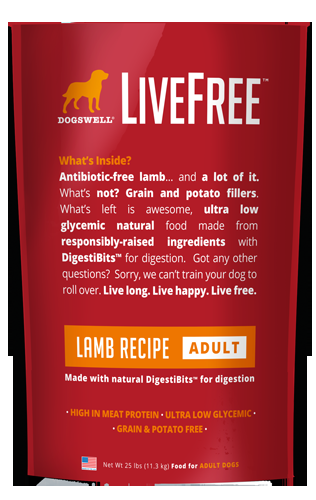 Livefree™ Adult Lamb Recipe 25#