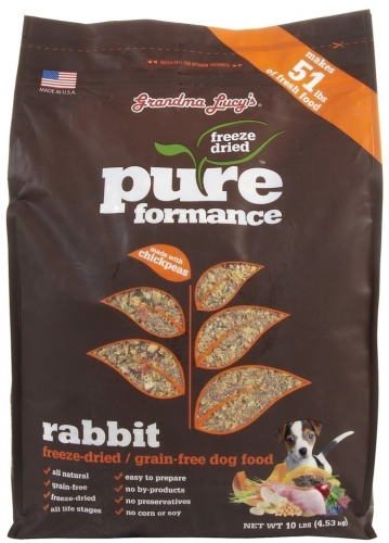 Grandma Lucy's Pureformance Rabbit Grain-Free DOG Food