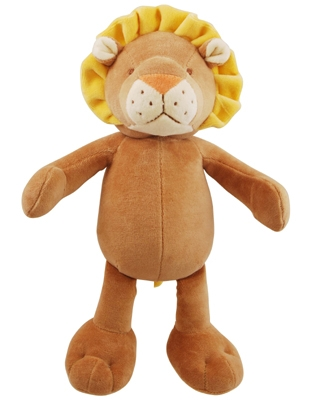 10 inch Brown/Yellow Leo Lion with squeaker