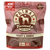 Primal Canine Turkey/Sardine Nuggets 3Lb
