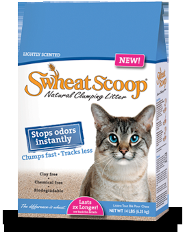 Swheat Scoop Lightly Scented Cat Litter 4/14#