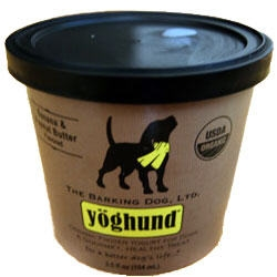 Yoghund All Natural Banana & Peanut Butter Frozen Yogurt for Dogs 4pk