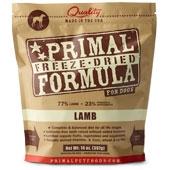 Primal Freeze-Dried Canine Lamb Formula 5.5oz