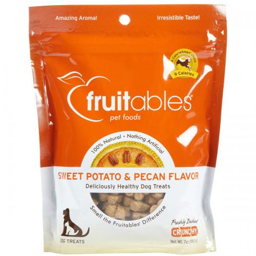 Fruitables Sweet Potato & Pecan Flavor Dog Trts 8/7 oz.