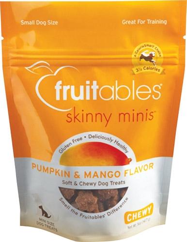 Fruitables® Skinny Minis™ Dog Treats Pumpkin & Mango, 12/5 Oz