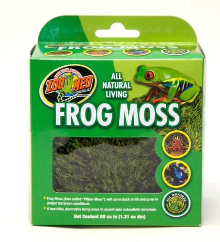 Zoo All Natural Frog Moss 80Ci