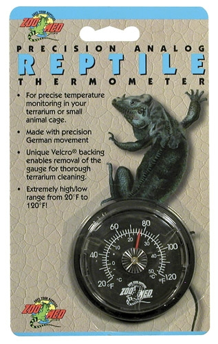 Zoo Analog Reptile Thermometer