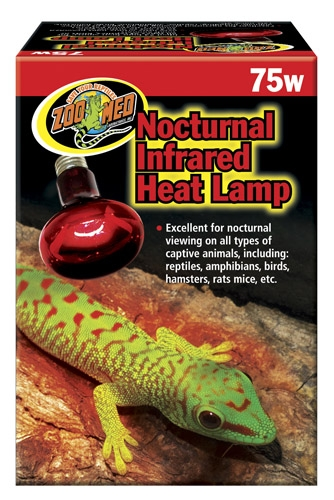 Zoo Med Red Infrared Heat Lamp 75W