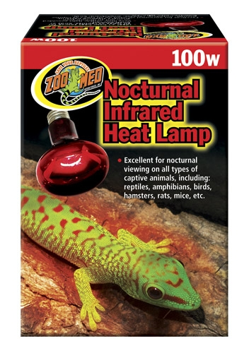 Zoo Red Infrared Heat Lamp 100W