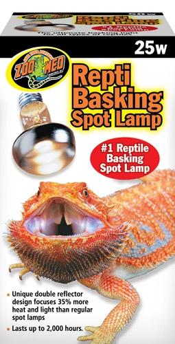 Zoo Repti Basking Spot Lamp 25W