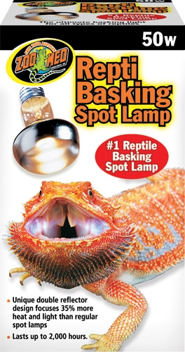 Zoo Repti Basking Spot Lamp 50W