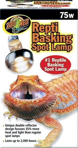 Zoo Repti Basking Spot Lamp 75W
