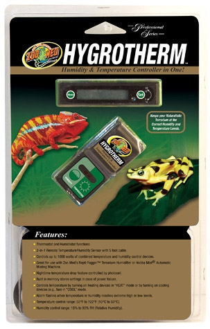 Zoo Hygrothrm/Thermstt Control
