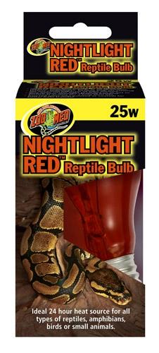 Zoo Nightlight Red Reptile 25W