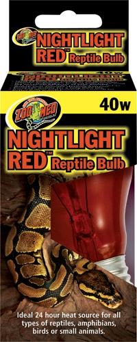 Zoo Nightlight Red Reptile 60W
