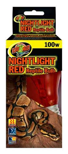 Zoo Nightlight Red Reptile 100W