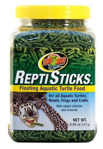 Zoo Reptistck Aqua Turtle Food 5 Oz.