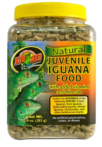 Zoo Nat Juvenl Iguana Fd 10 Oz