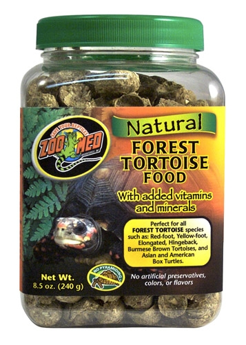 Zoo Med Natural Forst Tortoise Fd 8.5Oz