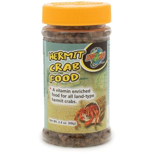 Zoo Med Hermit Crab Food Pellet 2.4Oz