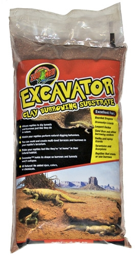 Zoo Med Excavator Clay Burrow Substrate 5#