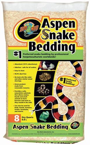Zoo Med Aspen Snake Bedding 8Qt