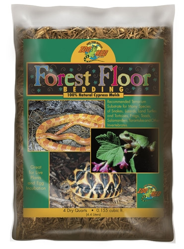 Zoo Forest Floor Bedding 4Qt