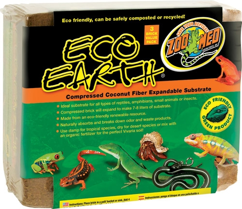 Zoo Med Eco Earth 3Pk
