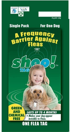 Shoo Tag Flea/Tick Dog Single