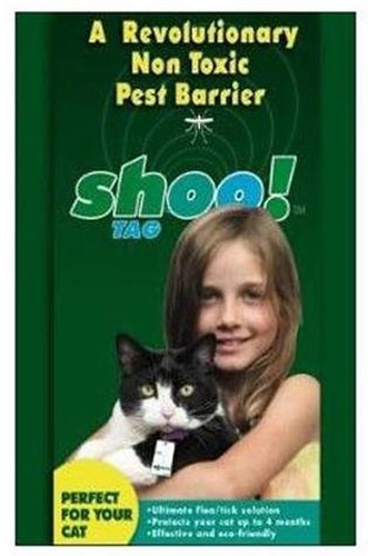 Shoo Tag Flea/Tick Cat Single