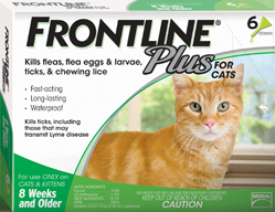 Frontline Plus 6Month Green Cat