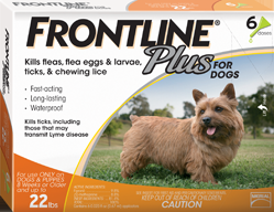 Frontline Plus 6Month Dog 0-22#