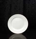Plate, Salad & Desert 7 1/2 White