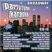 Karaoke CD, Broadway