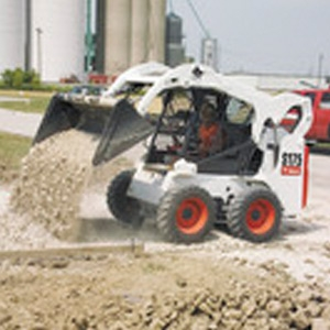 Tractor, Bobcat Skid Steer loader S510