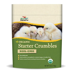 Manna Pro® Certified Organic Starter Crumbles